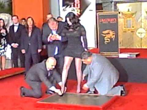 Cher Honored with Hands and Footprints Ceremony at Grauman's Chinese Theatre