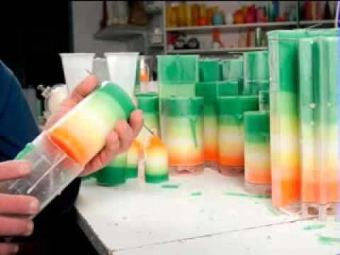 Creative candle making ideas youtube for How to make candle sticks