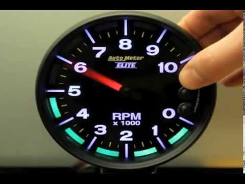 Auto Meter  - Nascar Can PRS Tach