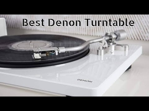Best Denon Turntable - Top Reviews Of 2019