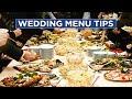 The Dos and Don'ts of Wedding Menus - HGTV