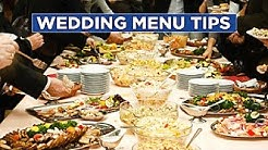 The Dos and Don'ts of Wedding Menus - HGTV