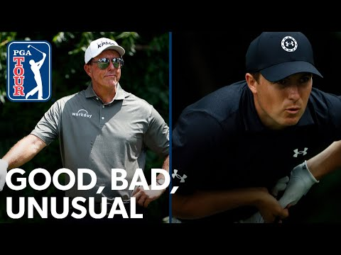 Spieth's rollercoaster Sunday, Mickelson's humor and Morikawa's weird week