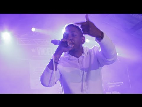 "Kendrick Lamar ""Money Trees"" feat. Jay Rock LIVE @ SXSW 2013"