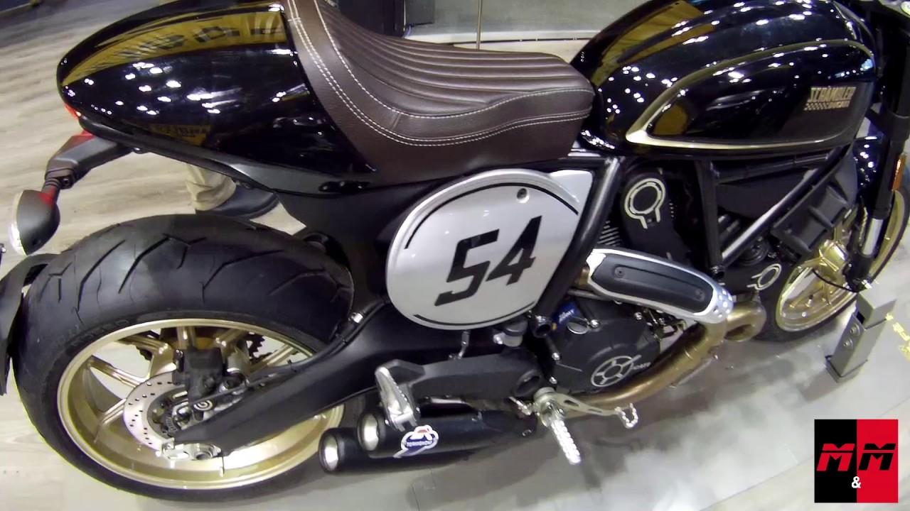 ducati scrambler caf racer motor bike expo 2017 youtube. Black Bedroom Furniture Sets. Home Design Ideas