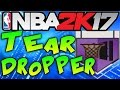 NBA 2K17 TEAR DROPPER BADGE TUTORIAL! - How to Get TEAR DROPPER Badge in NBA 2k17