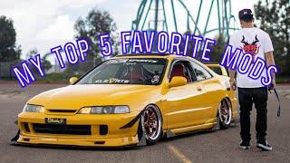 My Top 5 Mods on my Acura Integra