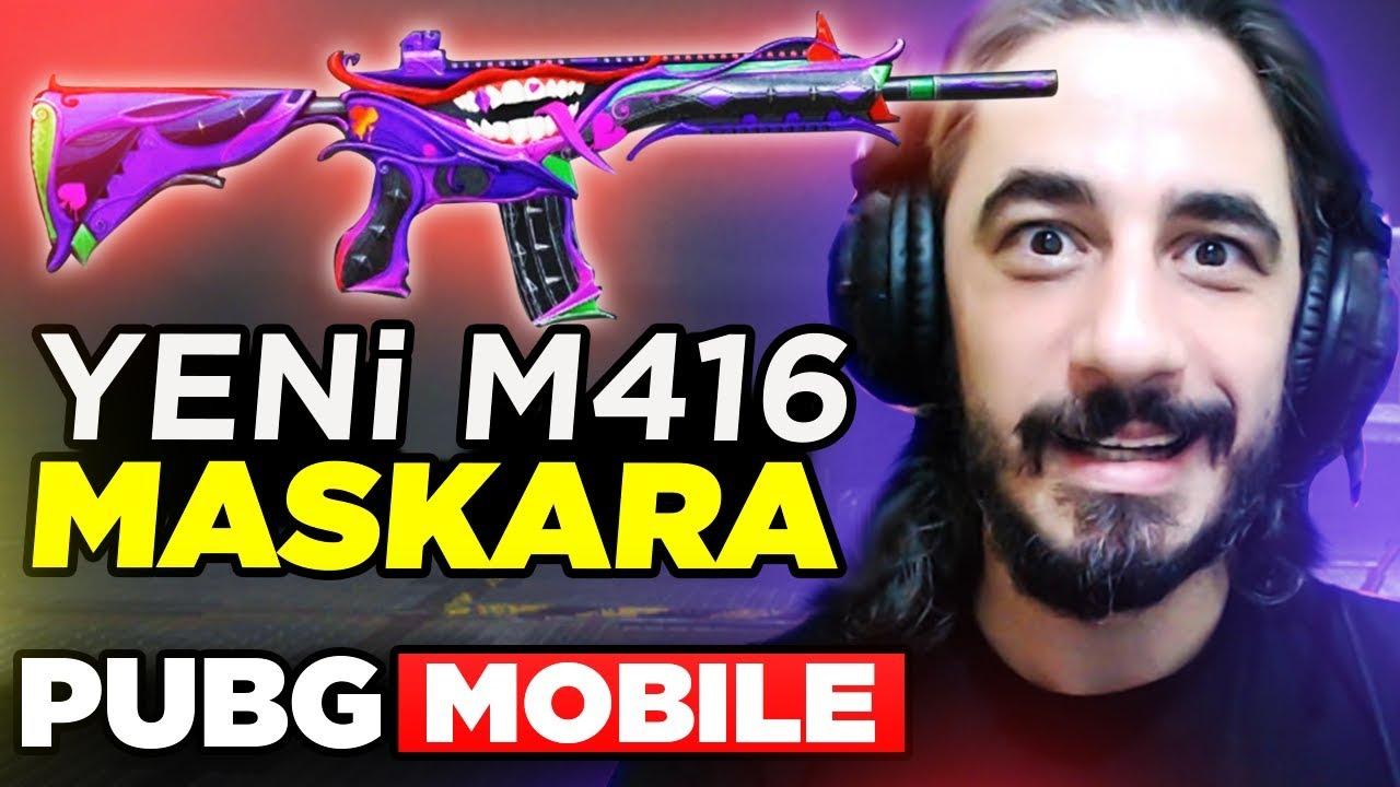 YENİ EFSANE GELDİ !! M416 MASKARA !! - PUBG Mobile