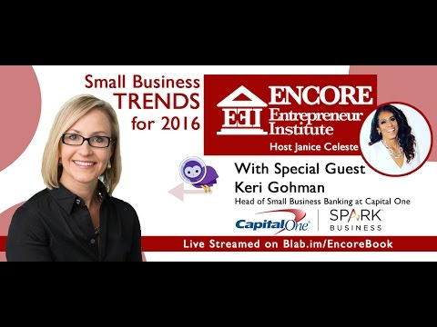 Let's Talk to Capital One's Keri Gohman About Small Business Trends for 2016