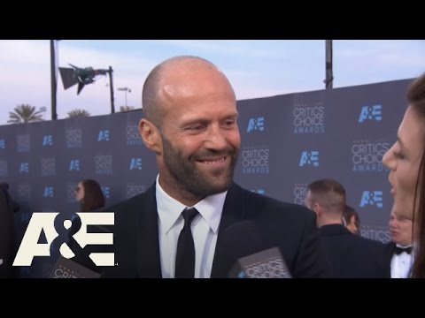 Jason Statham on the Red Carpet | 2016 Critics' Choice Awards | A&E
