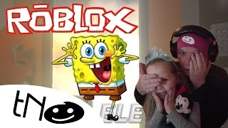 Spongebob Bake the buss in the elevator-Elevator: SOURCE | Roblox | Daddy and Barunka CZ/SK