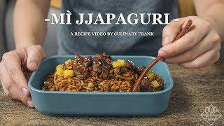 MÌ JJAPAGURI | PHIM KÝ SINH TRÙNG | ASMR Cooking | Culinary Frank