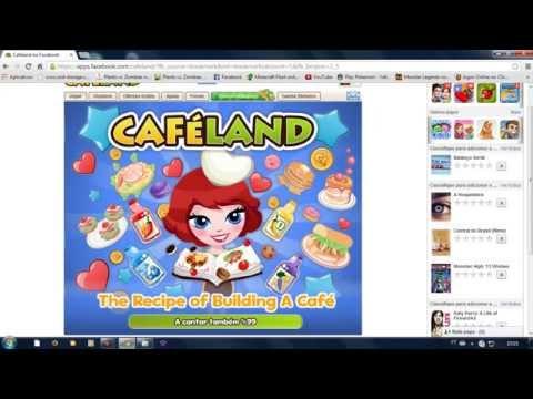 Cafeland No Facebook