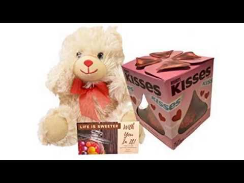 BEST Valentines Day Reviews! HERSHEY'S KISSES Chocolates, Giant Gluten-Free Solid Milk Chocolate..