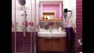 Интерьер ванной комнаты совмещенной с туалетом(Дизайн ванной, совмещенный санузел, видео, советы экспертов, освещение Это и многое другое видео фото интер..., 2016-02-26T14:55:44.000Z)