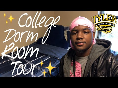 COLLEGE DORM ROOM TOUR 2018/2019 | CROSSROADS HALL | AT TYLER JUNIOR COLLEGE✨ |