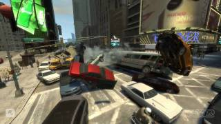 GTA IV - EXTREME CRASHES (detailed)... in slow motion