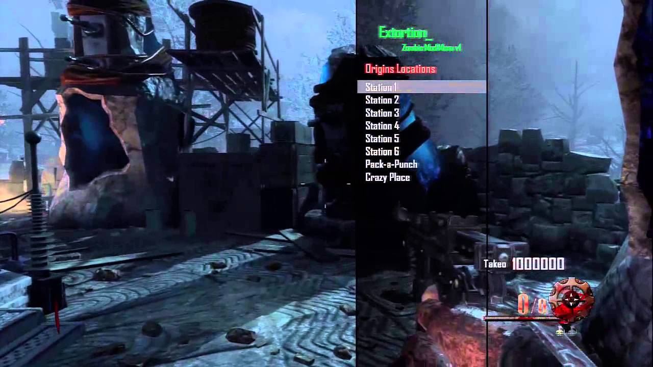 BO2 Extortion Zombie SPRX Mod Menu 1.19