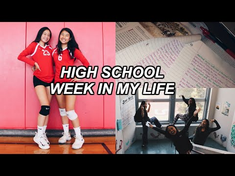 HIGH SCHOOL WEEK IN MY JUNIOR YEAR 2018!