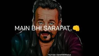 Khalnayak song status √ Sanjay Dutt's khalnayak status