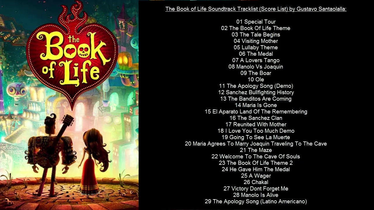 The Book Of Life Music