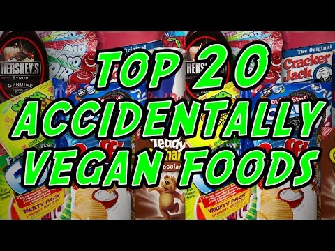 Top 20 Accidentally Vegan Foods!  |  Vegan Junk Food and Snacks  |  Doritos/Oreos/Pop Tarts