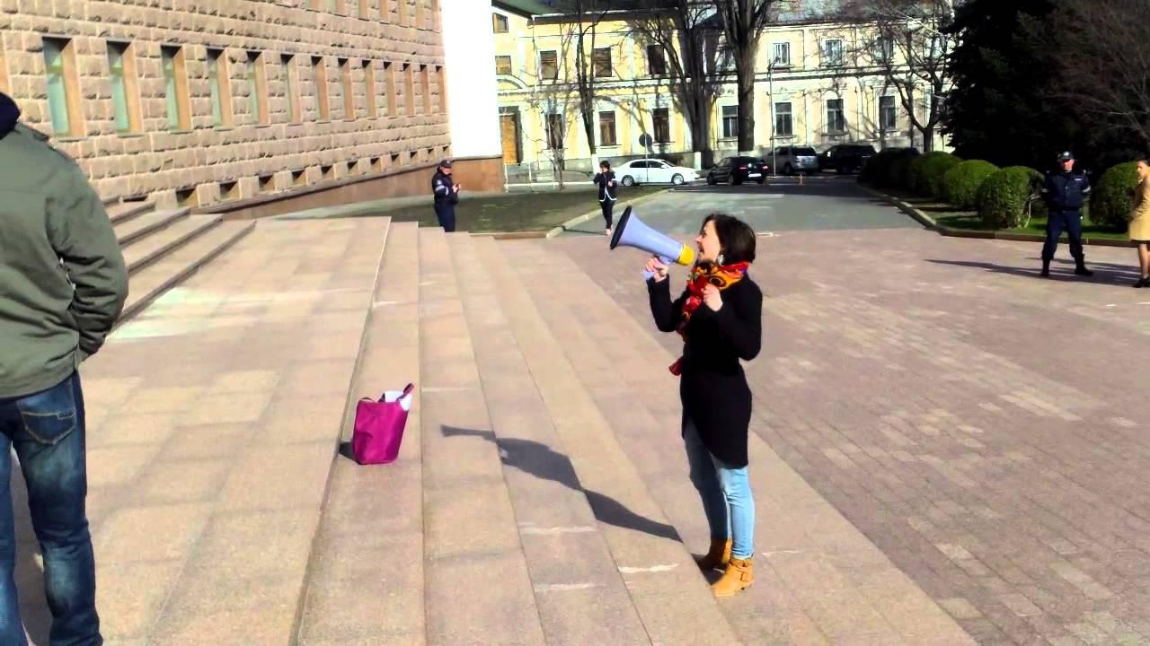 Protest la #Parlament din cauza primei de Paști de 1500 de lei