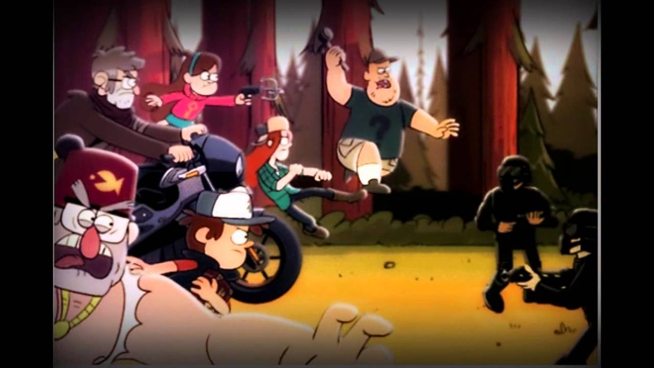 Gravity falls age of gideon parody of quot avengers age of ultron