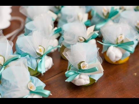 Бонбоньерки - подарки гостям на свадьбе