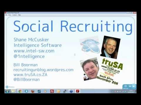 Social Recruiting - Facebook, LinkedIn Twitter, YouTube