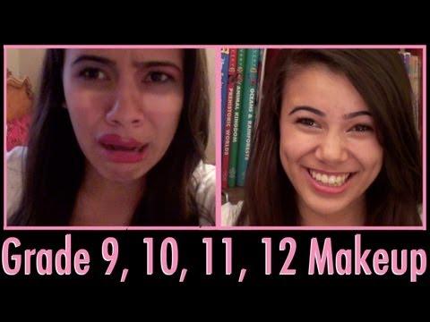 Grade 9, 10, 11, 12 Everyday Makeup Tutorial
