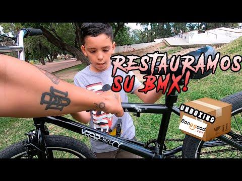 ENCHULANDO LA BMX DE MI SOBRINO 😱 Esta Bicicleta Regreso A La Vida! Unboxing Banggood