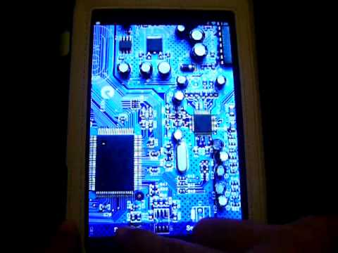 Androidsparking Circuit Board Live Wallpaper Youtube
