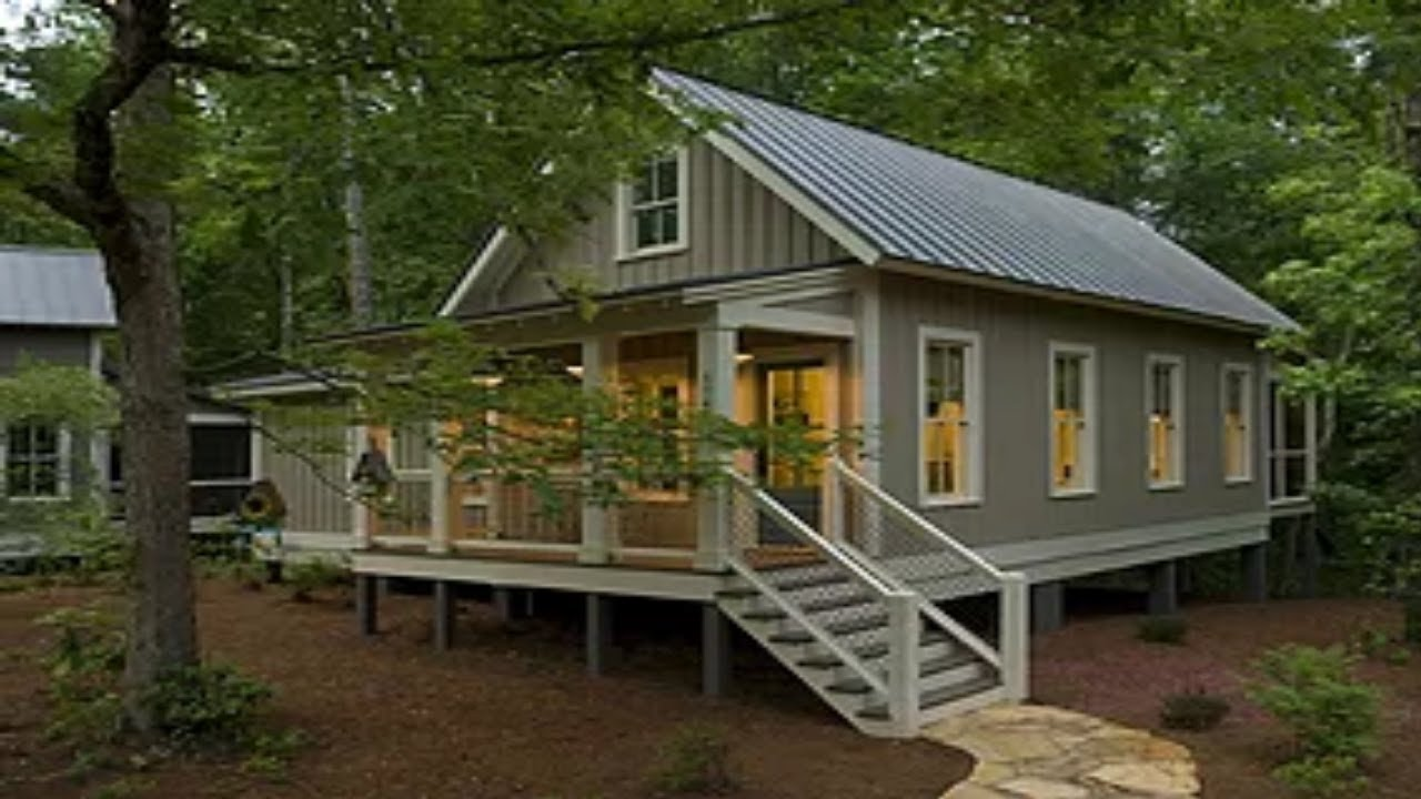 Camp Callaway Cottage Is 1091 Sq Ft Pure Cozyness Youtube