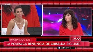Renunció Griselda Siciliani, la causa aparente sería la pelea de Luciana Salazar y Cinthia Fernández