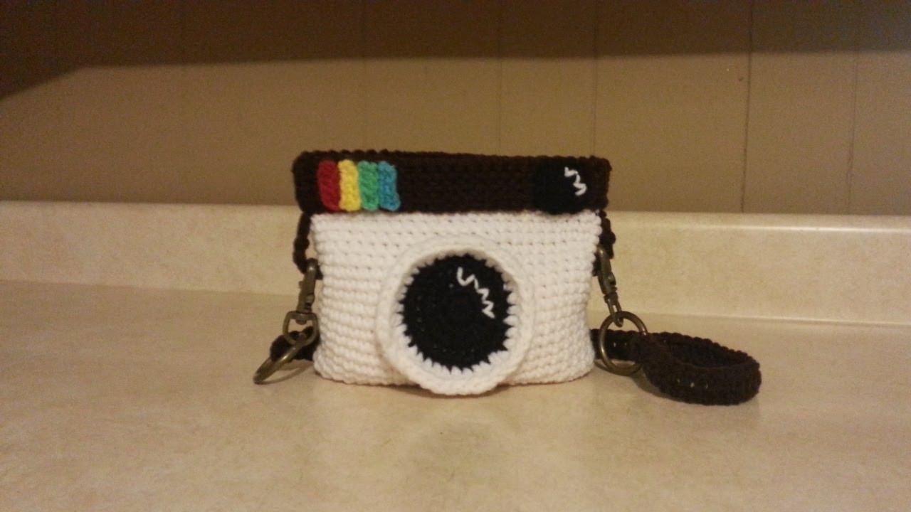 How To Crochet The Vintage Instagram Icon Handbag Baay Tutorial 70