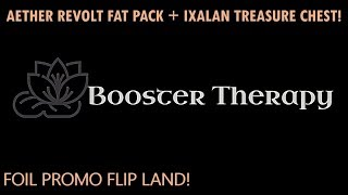 AETHER REVOLT FAT PACK + IXALAN BUY-A-BOX TREASURE CHEST! DID YOU SAY FOIL PROMOS?!