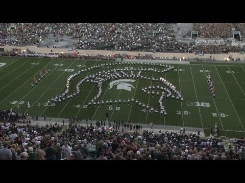 Spartan Marching Band: Pregame | MSU vs Furman : 9.2.2016