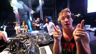 Download Major Lazer - Get Free @ EDC Las Vegas 2013 MP3 song and Music Video