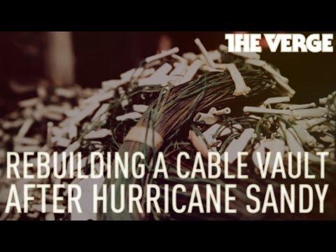 Rebuilding A Verizon Cable Vault Devastated By Hurricane Sandy