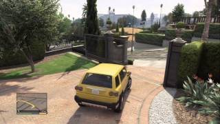 GTA V Gameplay: Simeon Mission 3, Micheal Intro HD