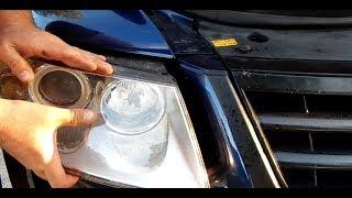 How to change a halogen light bulb with a VW Touareg Porsche Cayenne Audi Q7 (ENGLISH)