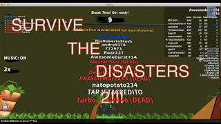Roblox, Survive the Disasters 2!!! {only friends with the creator can play the game}