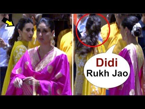 Karisma Kapoor UPSET After Kareena Kapoor Gets More ATTENTION From Media @ Mukesh Ambani Ganpati