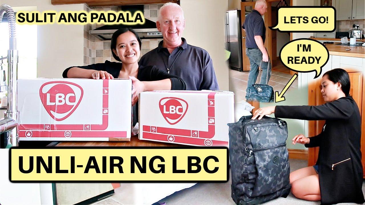 FILIPINA BRITISH LIFE IN UK: UNLI AIR NG LBC! UWI NA SA PINAS