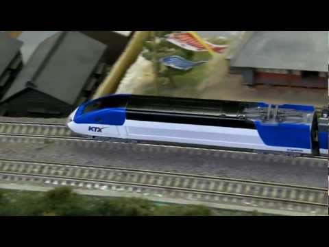 N scale railroad model KTX Sancheon (4)