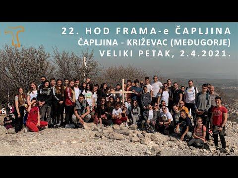 22. Hod FRAMA-e Čapljina (Čapljina - Križevac, Međugorje) - Veliki petak, 2.4.2021.