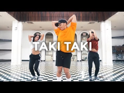 Taki Taki - DJ Snake feat Ozuna Cardi B Selena Gomez Dance   besperon Choreography