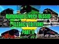 Kumpulan Livery BUSSID bus simulator indonesia (Legacy Edition) PART II