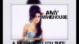Amy Winehouse A Message To You Rudy (Official Studio Version HD)